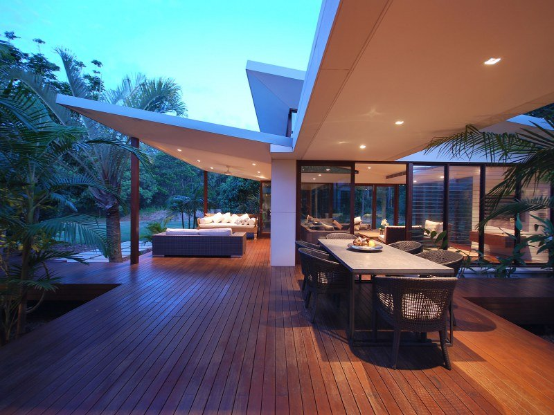 Outdoor living design with verandah from a real Australian ... on Ab And Outdoor Living  id=72353