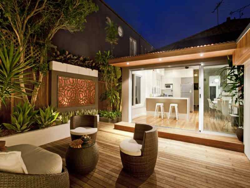 Outdoor living design with deck from a real Australian ... on Aust Outdoor Living  id=87028