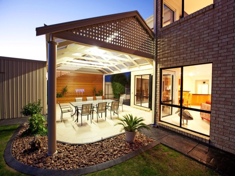 Outdoor living design with pergola from a real Australian ... on Aust Outdoor Living  id=99092