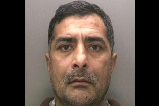 Birmingham pervert Ashiq Hussain, from Saltley, repeatedly rubbed his leg against the terrified 22-year-old passenger on the number X51 bus as it travelled along Walsall Road in Perry Barr.