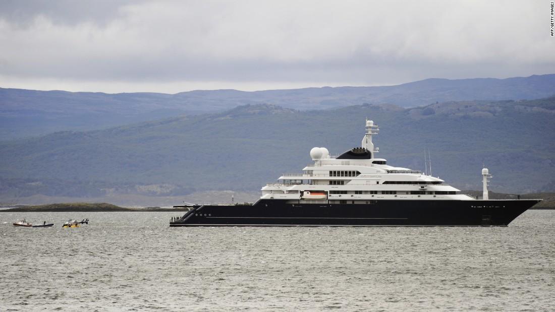 Worlds Biggest Superyacht The Billion Dollar Limit CNN