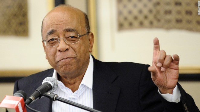 Image result for Mo Ibrahim