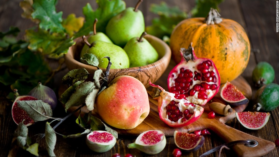 """The weather is getting cooler, but your produce choices are heating up. These amazing superfoods, picked by our friends at <a href=""""http://www.health.com"""" target=""""_blank"""">Health.com</a>, are either hitting their peak in the garden or can easily be found in your local farmers market or grocery store. They're the perfect excuse to get cooking on cool nights!"""