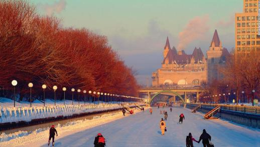 Image result for canada city in winter