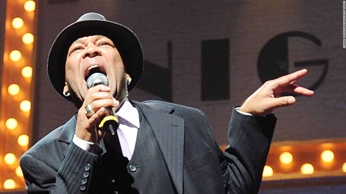 Johnny Kemp performs during Amateur Night at The Apollo Theater on August 31, 2011 in New York City.