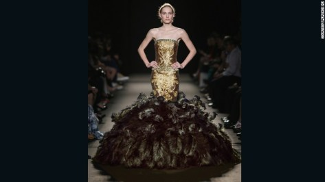 "Laurence Xu has shown his work at Paris' invitation-only haute couture fashion week since July 2013. ""I was born to be a fashion designer,"" he tells Williams in the book. ""I also carry a strong sense of purpose to promote the combination of Chinese and Western elements on the international stage."""