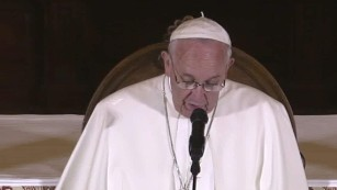 Pope Francis: 'God weeps' for abuse victims