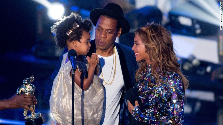 "Rapper Jay Z and singer Beyonce. seen here with daughter Blue Ivy Carter in 2014, are adding to their family. The singer <a href=""https://www.instagram.com/p/BP-rXUGBPJa/"" target=""_blank"">announced on Instagram</a> that she is pregnant with twins."