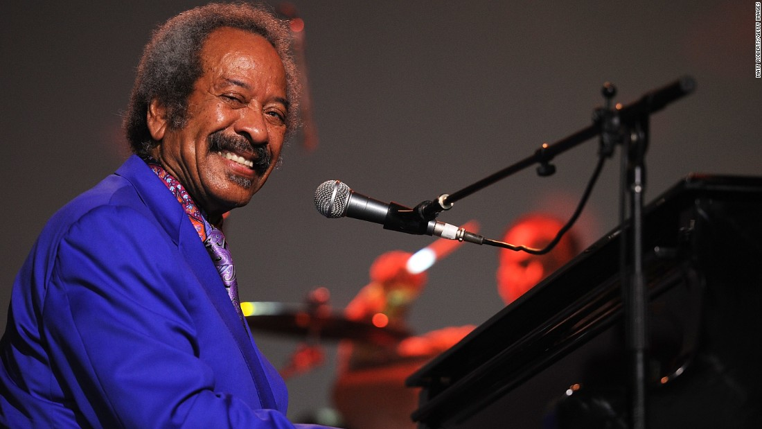 Allen Toussaint performs on stage at Bluesfest 2013 on March 31, 2013, in Byron Bay, Australia.