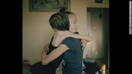 Girls fight eating disorders together