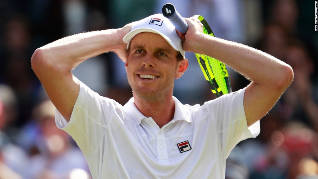 Image result for sam querrey wimbledon