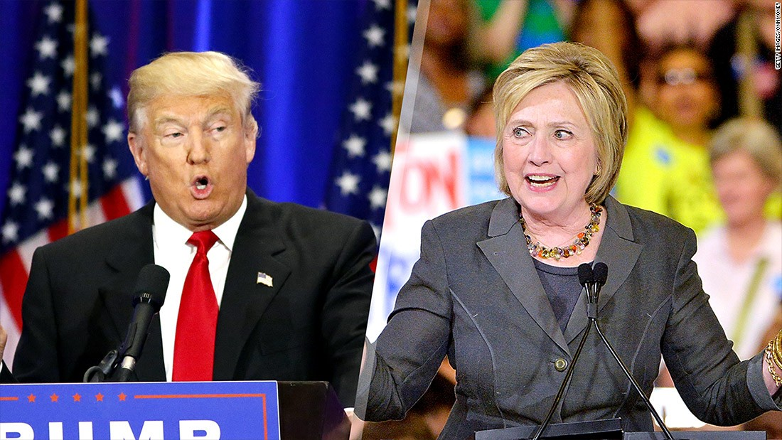 Clinton vs. Trump on wages, taxes and trade