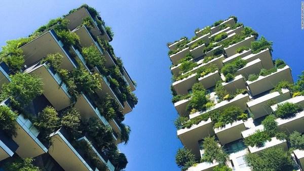 vertical garden skyscraper Gardens in the sky: The rise of eco urban architecture - CNN