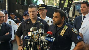 NYPD officers lauded as heroes for Times Square incident