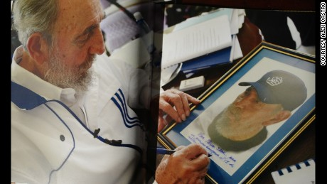Fidel Castro's son and photographer -- I don't listen in to his conversations