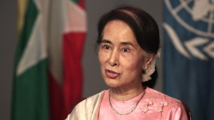 Aung San Suu Kyi on rising from dissident to leader