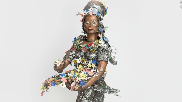"The art fair offers a vital platform for growth and increased visibility, to both artists and galleries. Pictured here is contributing artist Sokari Douglas Camp's work entitled ""Primavera""."