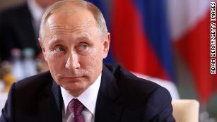 Russian President Vladimir Putin welcomes Trump's victory.