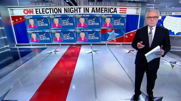 CNN 8p ET projection: Clinton wins 6 states, Trump 3 - CNN ...
