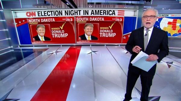 CNN 9p ET projection: Trump wins 7 states, Clinton 1 - CNN ...
