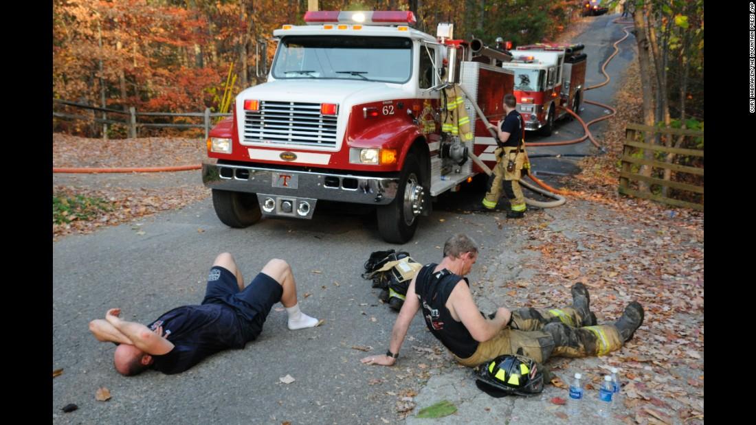 Image result for FIREFIGHTERS GATLINBURG november