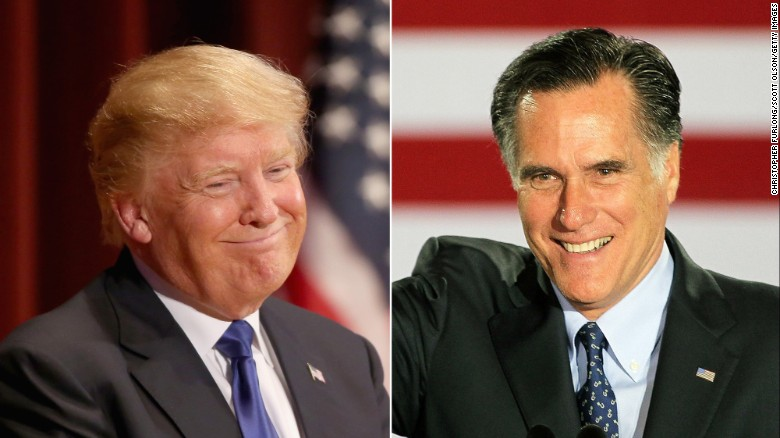 Image result for Did Donald Trump need an apology from Mitt Romney?