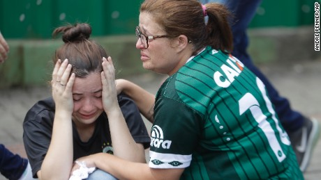 Colombia plane crash: 71 dead on Brazil soccer team's ...