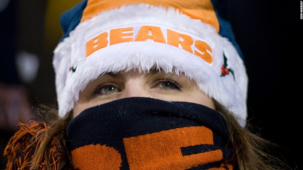 Packers at Bears could be the coldest in Chicago's history ...