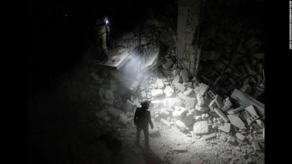 Omran Daqneesh, young face of Aleppo suffering, seen on ...