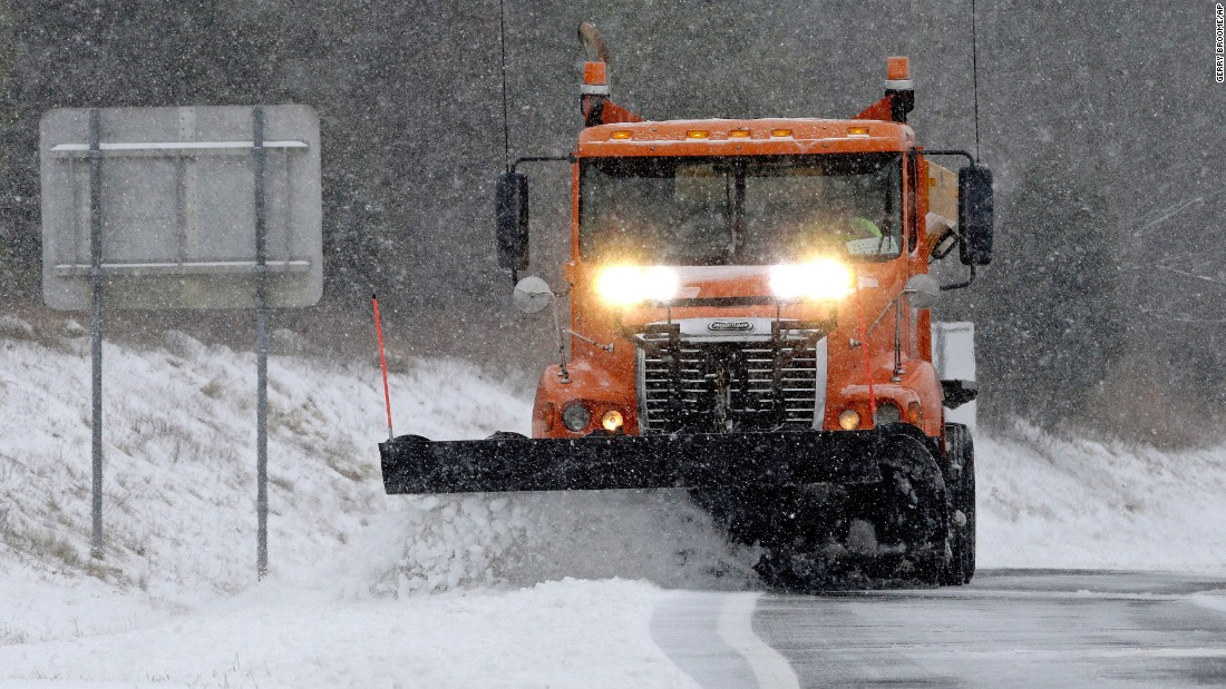 Image result for Snow storm moves north as blizzard warning remains in some areas
