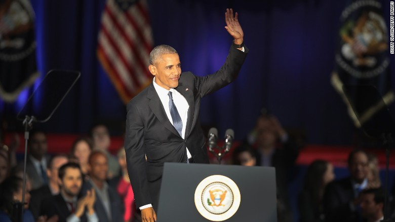 Watch President Obama's full farewell address