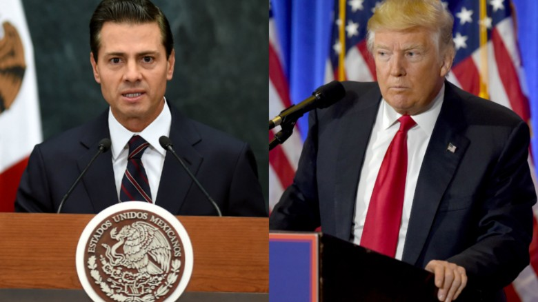 Image result for enrique pena nieto trump