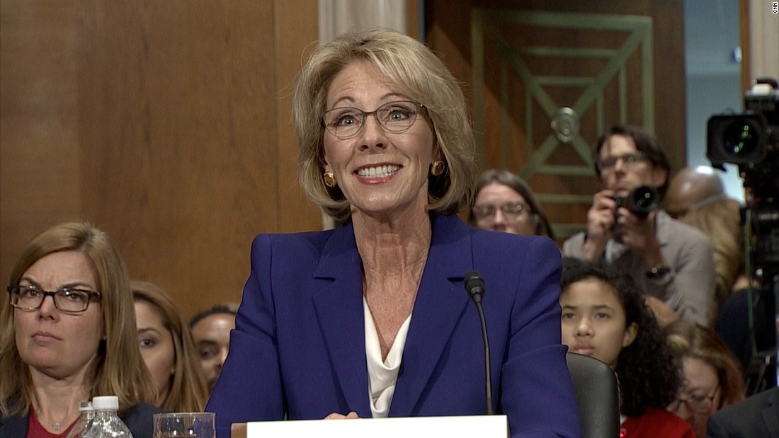 Image result for photos of betsy devos
