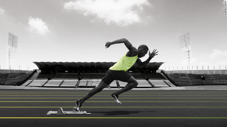 O medalhista de ouro olímpico Usain Bolt usou a palmilha de esporte da D3O, que foi projetada para melhorar o desempenho e reduzir lesões.