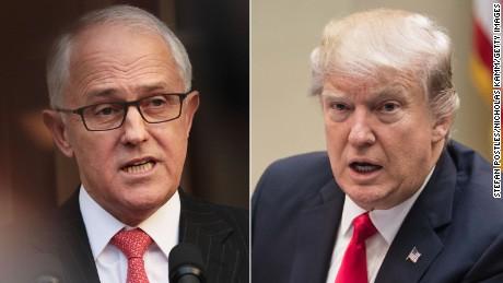 Trump and Australian Prime Minister meet