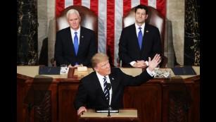 President Trump's first address to Congress