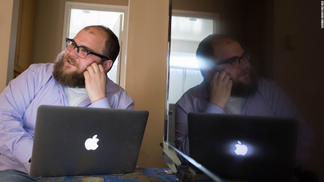 Vinny Green, in his San Diego apartment, is concerned with the numbers on both the front and back ends of the site.