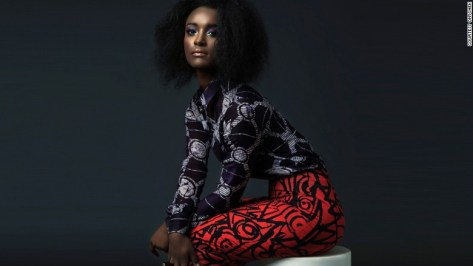 There's growing interest in African brands believes ONYCHEK's 27-year-old founder Chekwas Okafor.