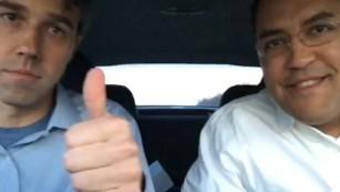 Political rivals survive 36-hour road trip