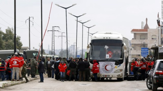 Hasil gambar untuk homs evacuation