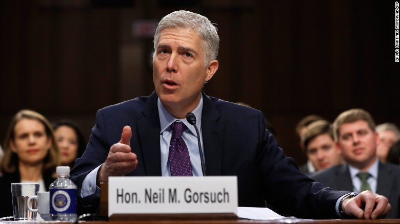 Image result for gorsuch