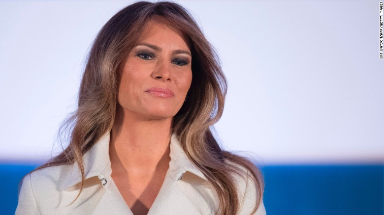 Image result for Melania Trump gets glamorous new official portrait