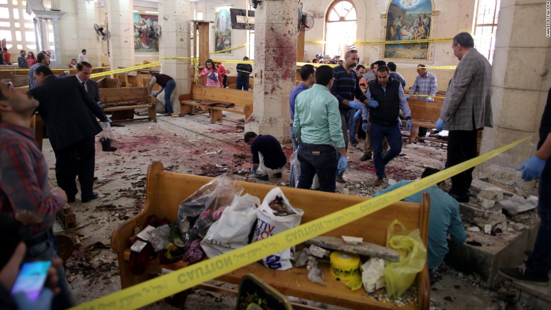 Image result for palm sunday egypt bombing
