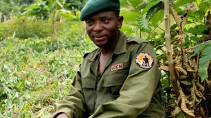 Former child soldier wins prize for risking his life to protect Congo's wildlife