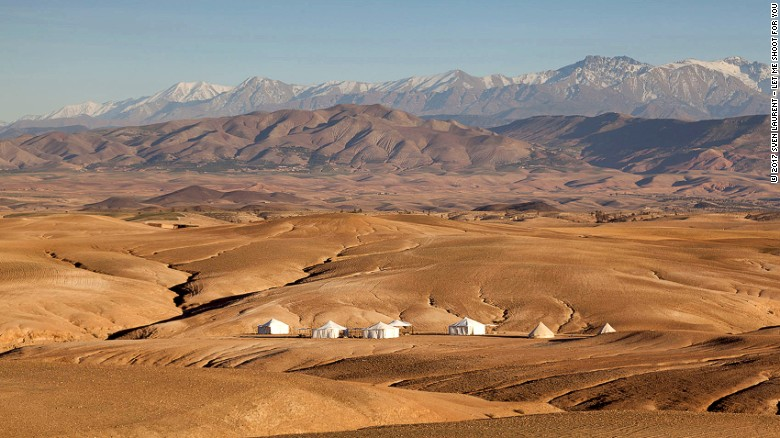 Morocco's Scarabeo Camp offers luxury on a par with anything you'll find in Marrakech.