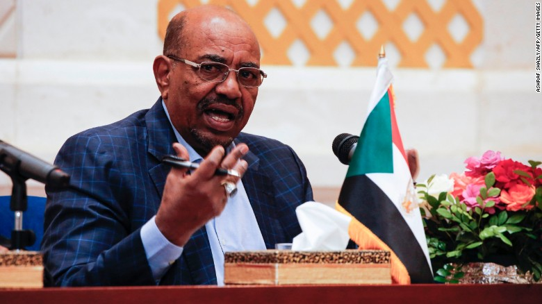Sudanese President Omar al-Bashir speaks March 2, at a news conference in the presidential palace in Khartoum.