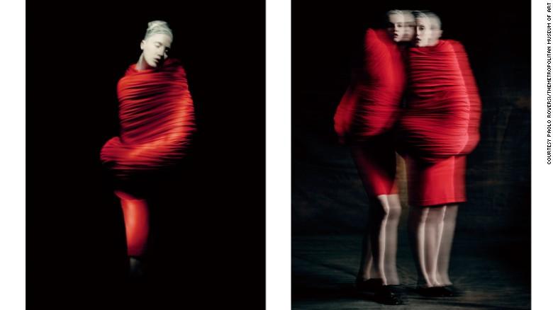 "From Comme des Garçons's Spring-Summer 1997 collection, titled ""Body Meets Dress, Dress Meets"""