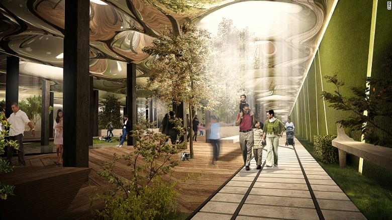 The proposed New York LowLine.