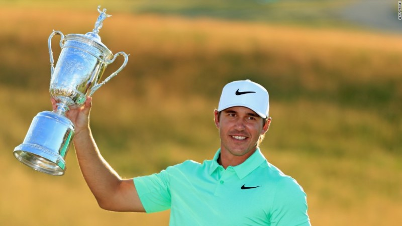 Powerful Floridian Brooks Koepka Won His Maiden Major Title With Victory In The  Us Open