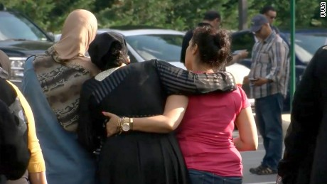 Members of northern Virginia's Muslim community mourn the attack.